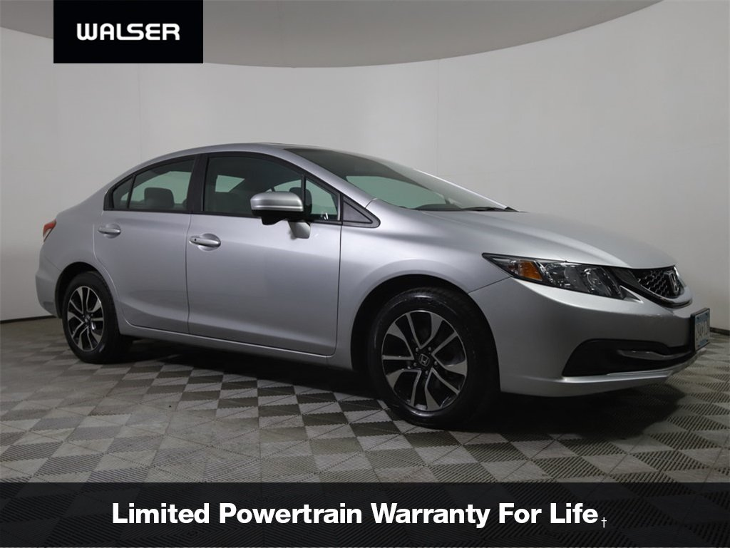 Certified Pre-Owned 2015 Honda Civic EX AUTO CERTIFIED