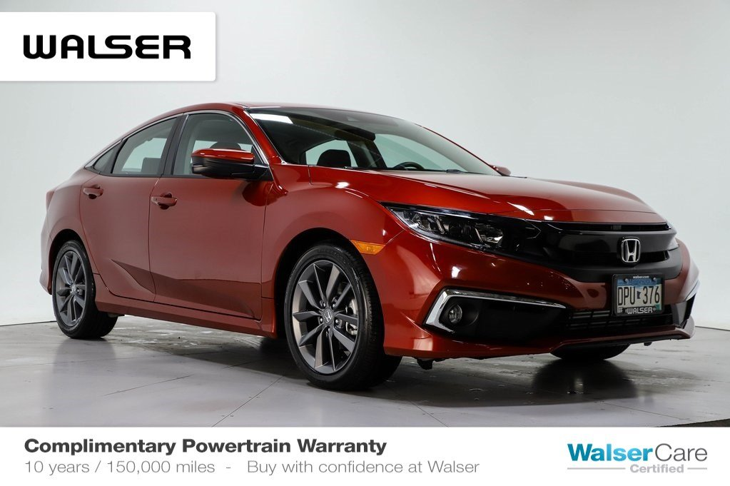 Honda Civic Certified Pre Owned >> Certified Pre Owned 2019 Honda Civic Ex