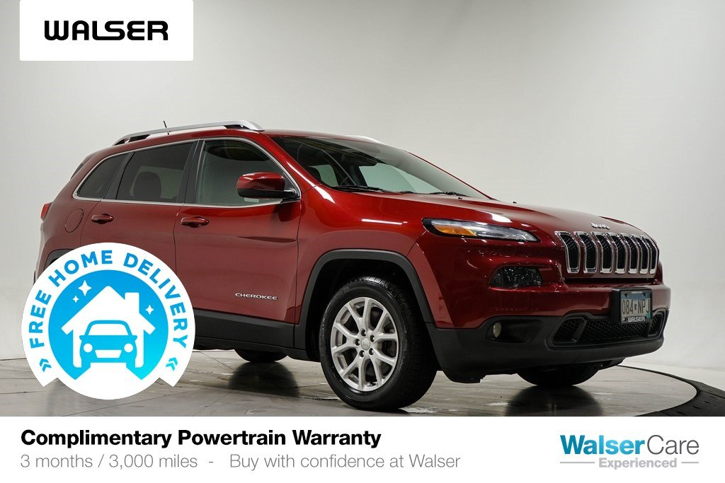 Pre-Owned 2014 Jeep Cherokee LATITUDE FWD