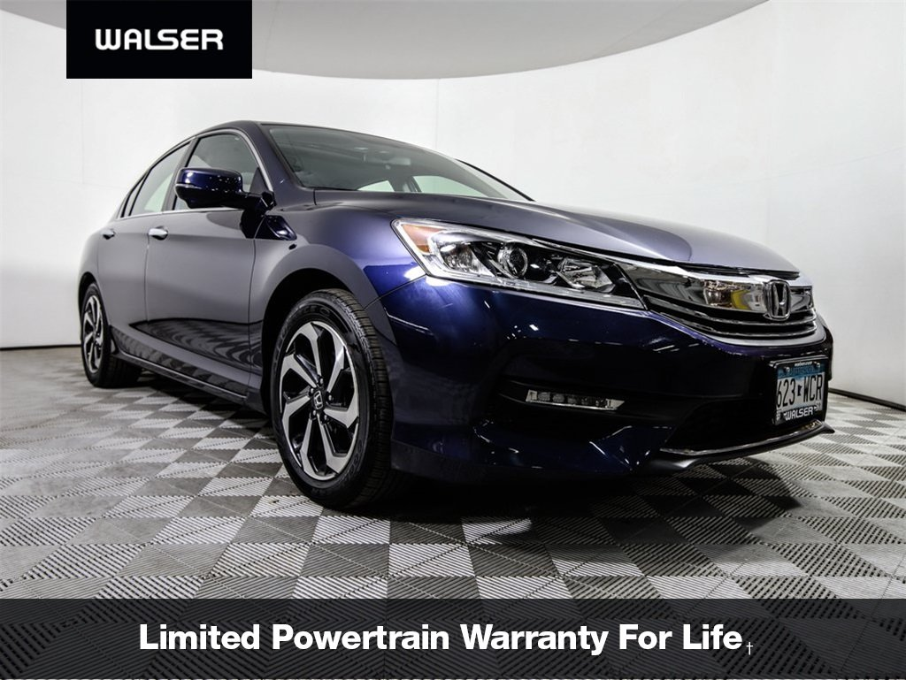 Certified Pre Owned 2017 Honda Accord Ex