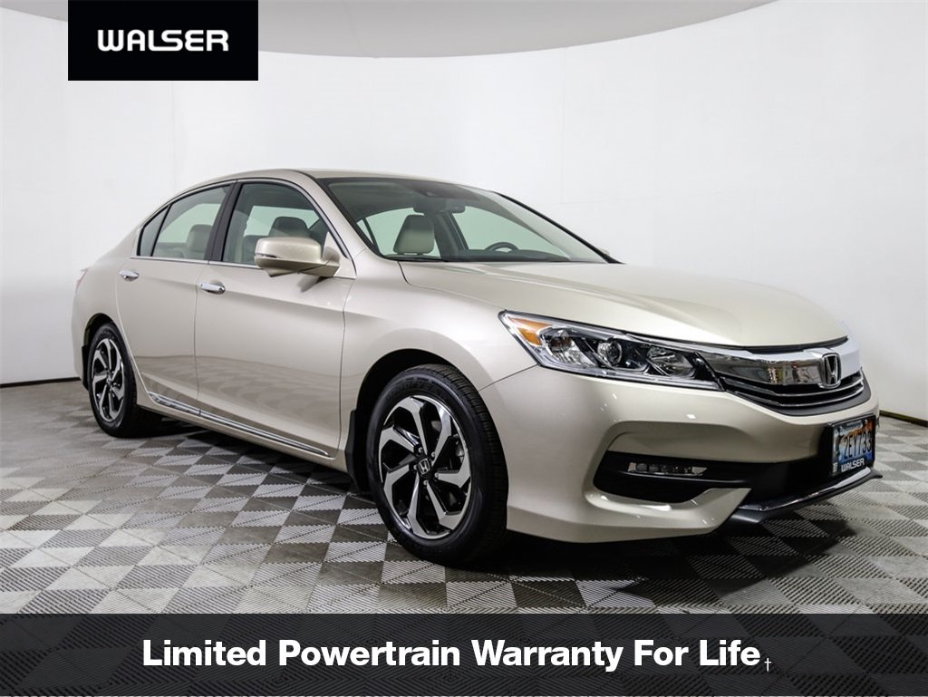 Certified Pre Owned 2017 Honda Accord Ex L W Navigation