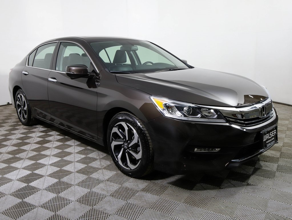 Certified Pre-Owned 2016 Honda Accord EX-L V6