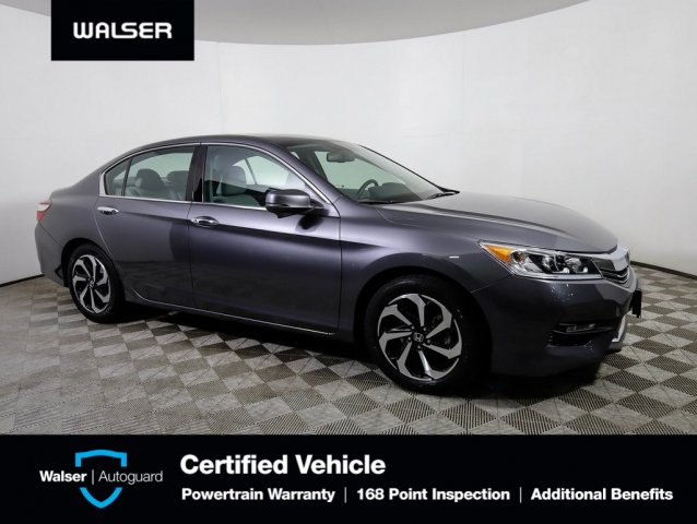 Pre-Owned 2017 Honda Accord EX-L V-6