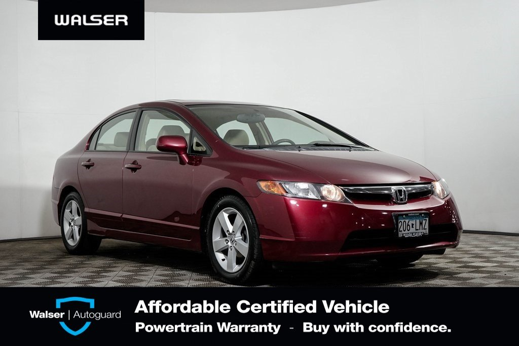 Pre-Owned 2007 Honda Civic LX AUTO