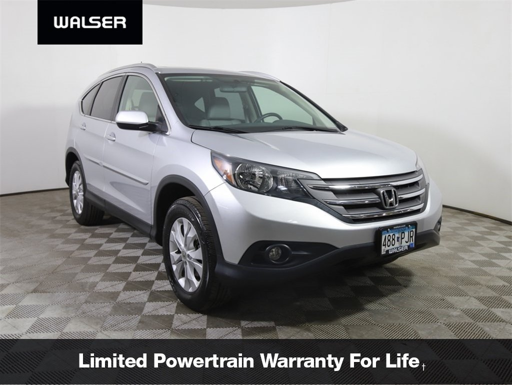 Pre-Owned 2014 Honda CR-V EX-L w/Rear Entertainment