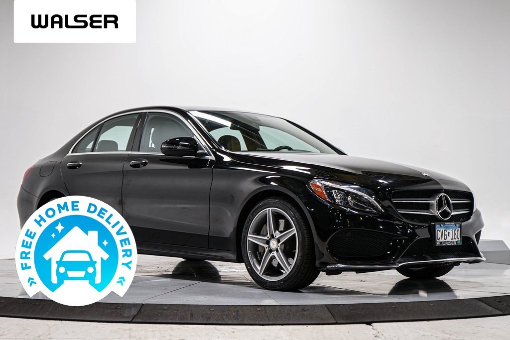 Pre-Owned 2016 Mercedes-Benz C-Class C300 SPT PREM PANO