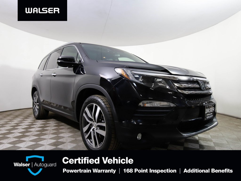 Pre Owned 2016 Honda Pilot Elite W Navigation And Rear Entertainment System