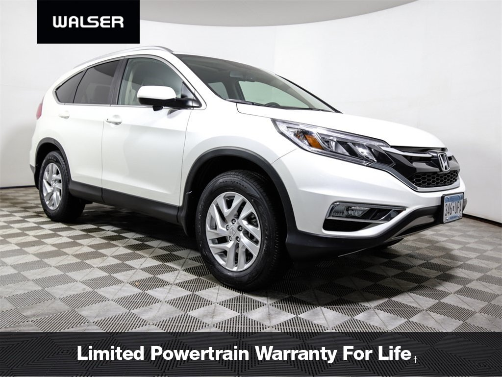 Certified Pre Owned 2016 Honda Cr V Ex L Awd Hlthr Mr