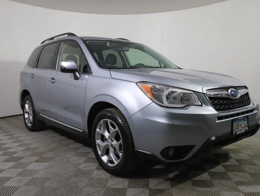 Pre Owned 2015 Subaru Forester 2 5i Touring Pzev Sport Utility In