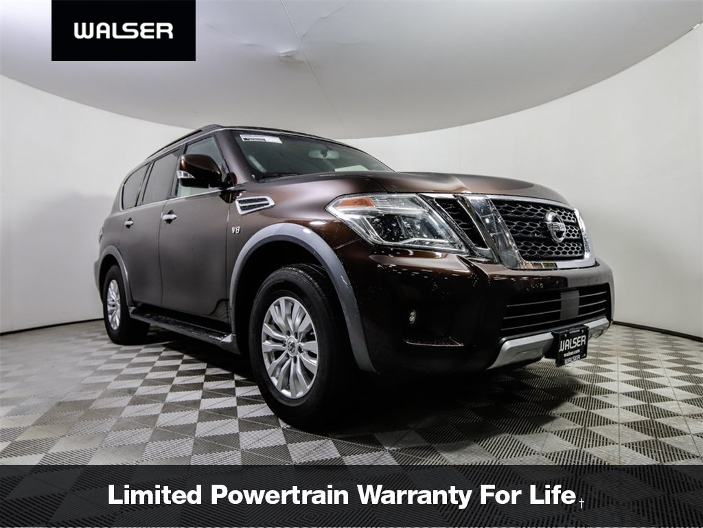 Pre-Owned 2018 Nissan Armada SV with Leather
