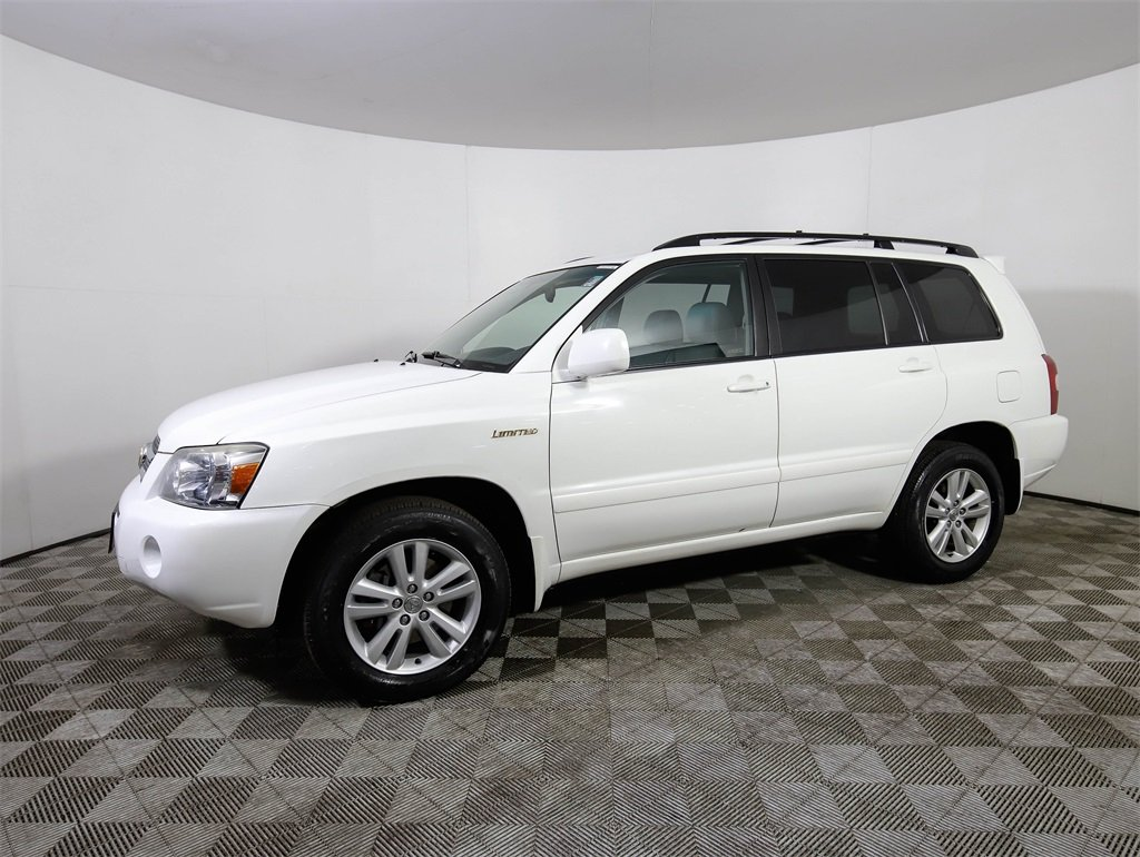 Pre Owned 2006 Toyota Highlander Hybrid Limited W Navigation System