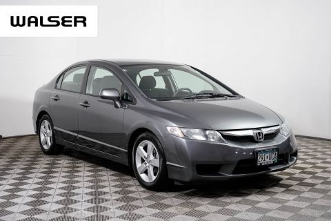 Pre-Owned 2009 Honda Civic LX-S MANUAL