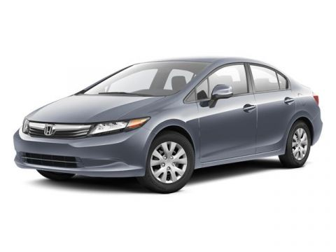 Pre-Owned 2012 Honda Civic LX 1 OWNER!