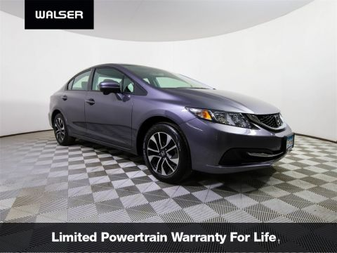 Pre-Owned 2015 Honda Civic EX MOON ALLOYS