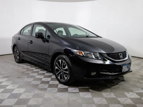 Pre-Owned 2013 Honda Civic EXL HLTHR MR