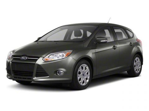 Pre-Owned 2012 Ford Focus SEL HEATED LEATHER