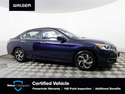 Pre-Owned 2017 Honda Accord LX AUTO