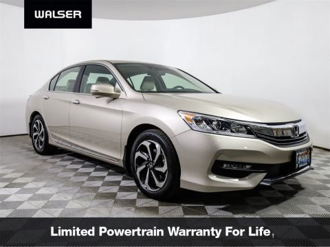 Certified Pre-Owned 2017 Honda Accord EX-L w/ Navigation