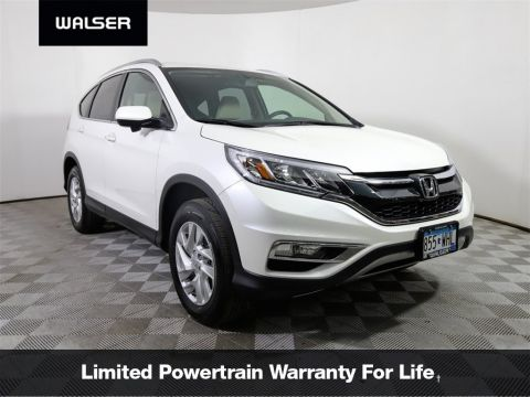 Pre-Owned 2016 Honda CR-V EX-L AWD HLTHR MR