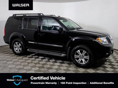 Pre-Owned 2012 Nissan Pathfinder V6 Silver Edition