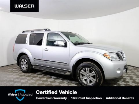 Pre-Owned 2012 Nissan Pathfinder SILVER AWD