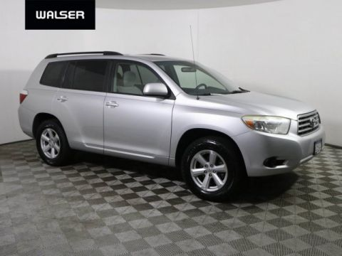 Pre-Owned 2008 Toyota Highlander AWD V6 3RD ROW